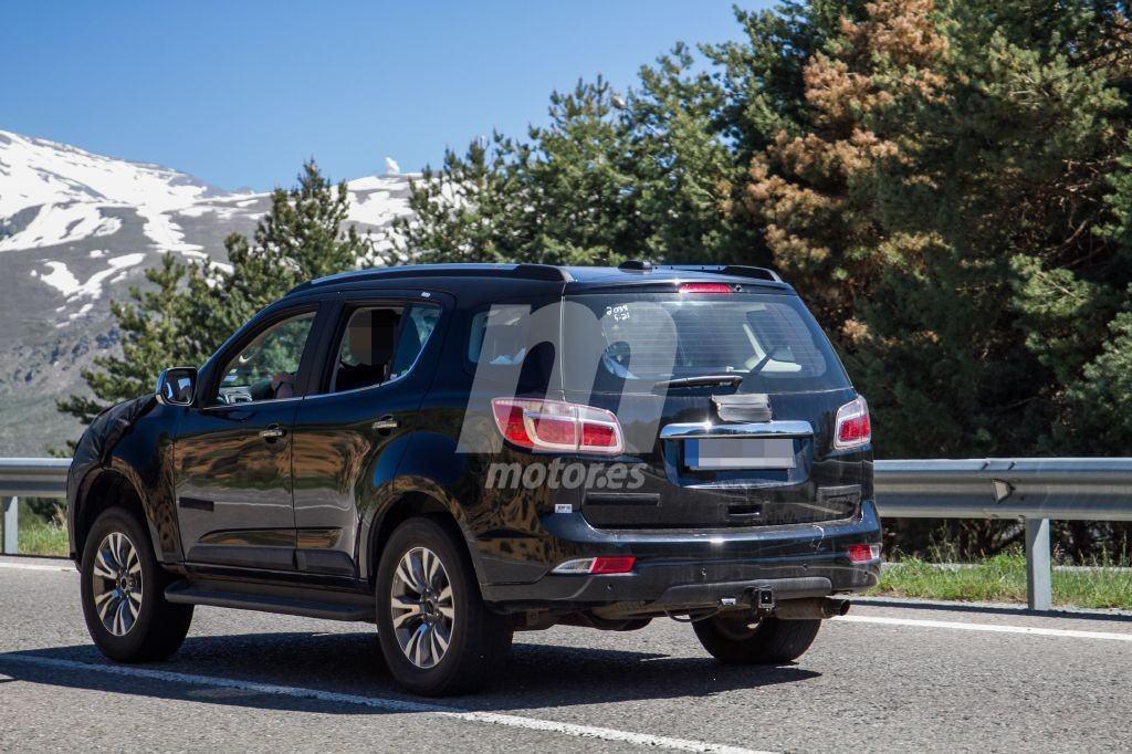 Chevrolet Trailblazer 2020 foto espía