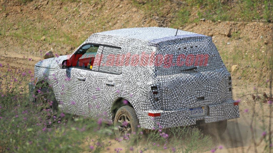 Ford Baby Bronco pruebas
