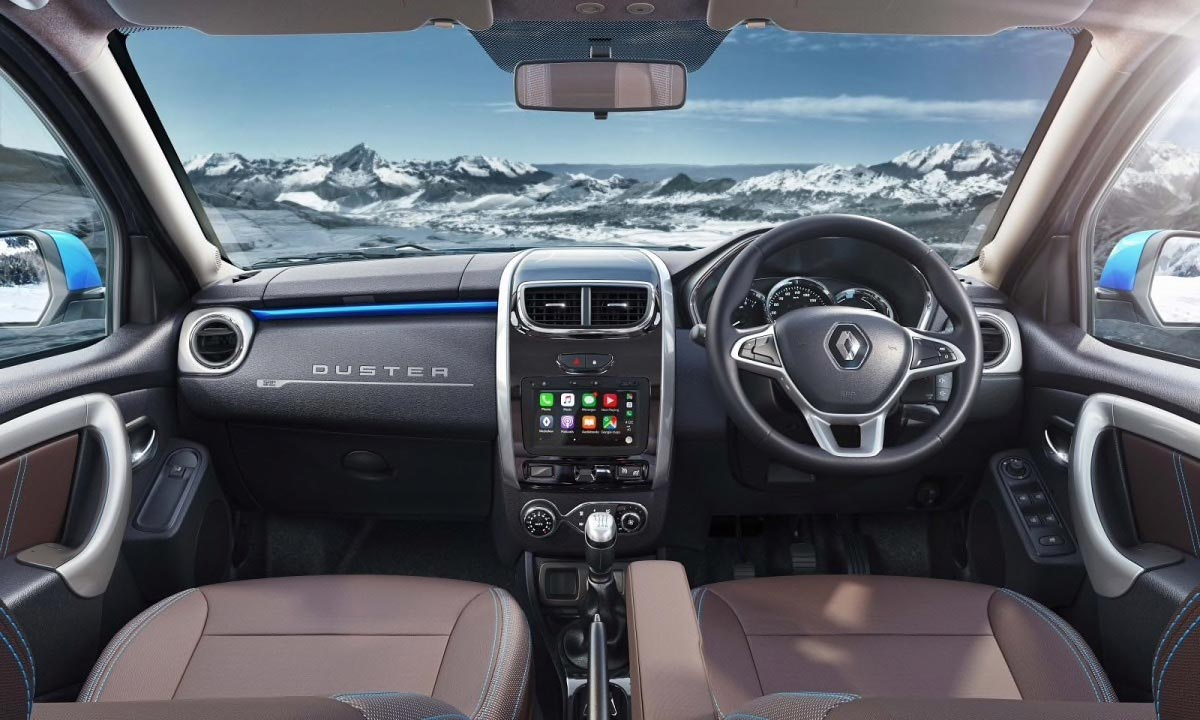 Interior Renault Duster 2019