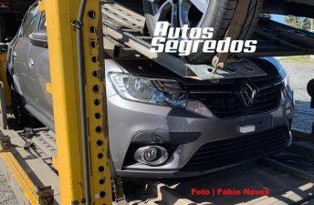 Descubren el restyling del Renault Logan