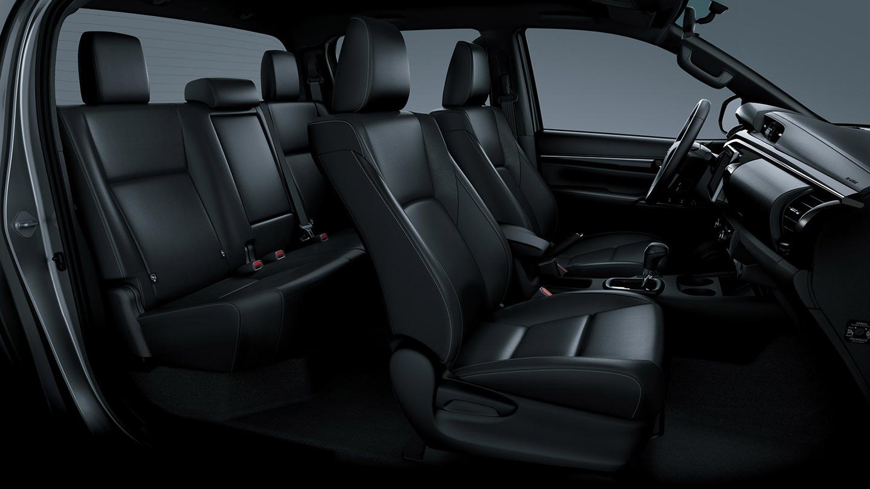 Interior Toyota Hilux 2020