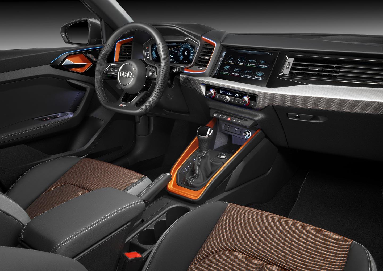 Interior Audi A1 Citycarver
