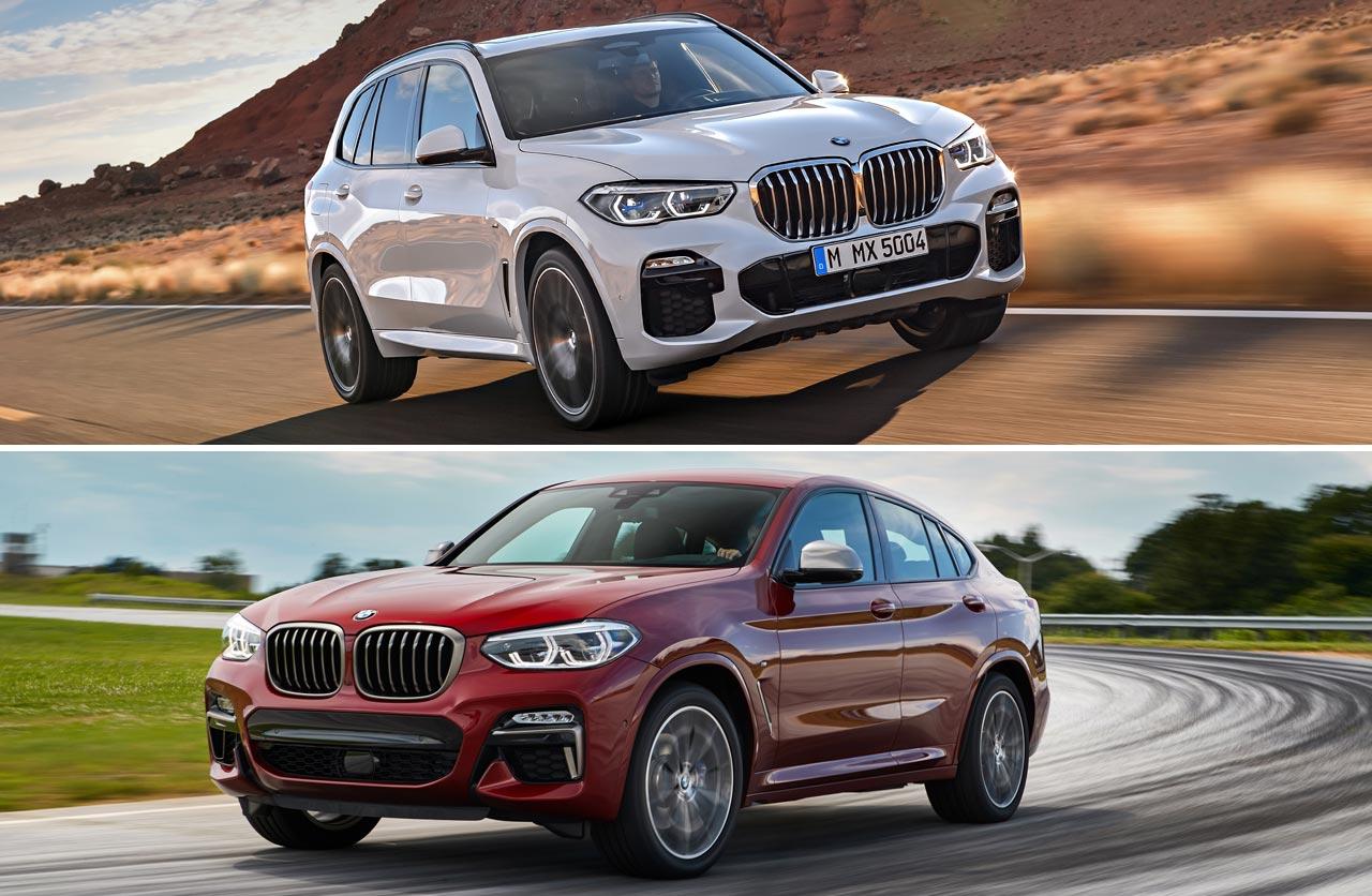 Cómo son los nuevos X4 y X5 que BMW lanzó en Argentina