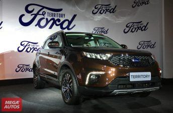 El Ford Territory llegará a Argentina en 2020