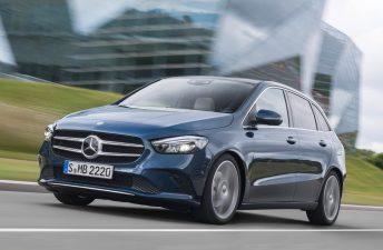 Mercedes-Benz lanzó el nuevo Clase B