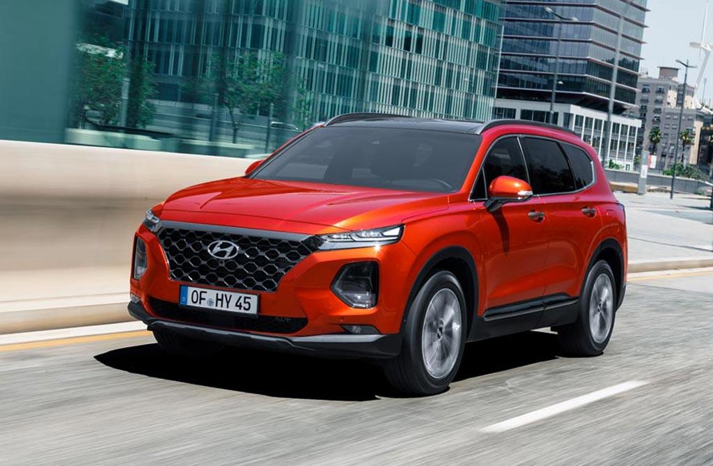Llegó la nueva Hyundai Santa Fe 2019