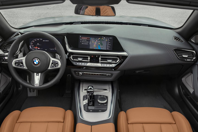 Interior BMW Z4 2019