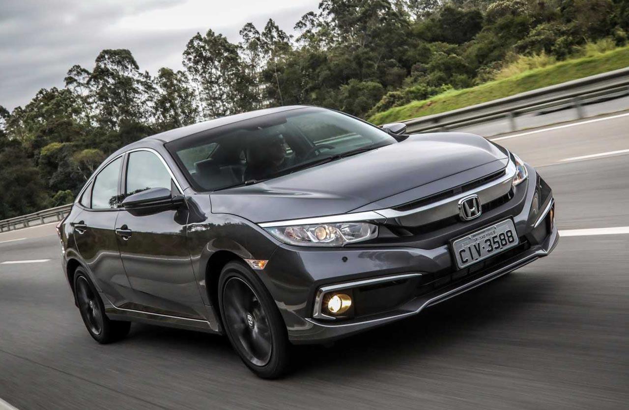 Honda renovó el Civic regional