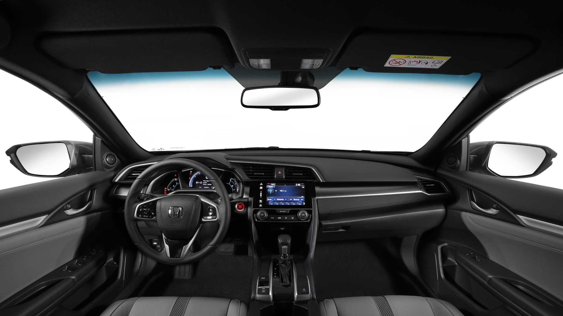 Interior Honda Civic 2020