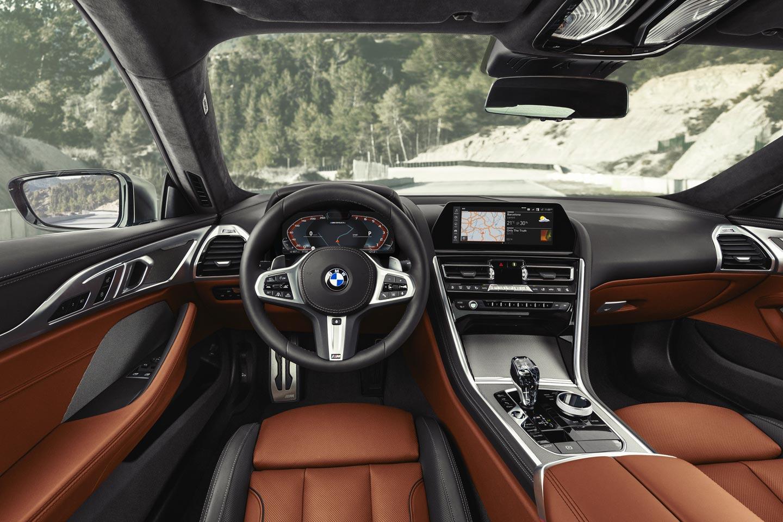Interior nuevo BMW Serie 8