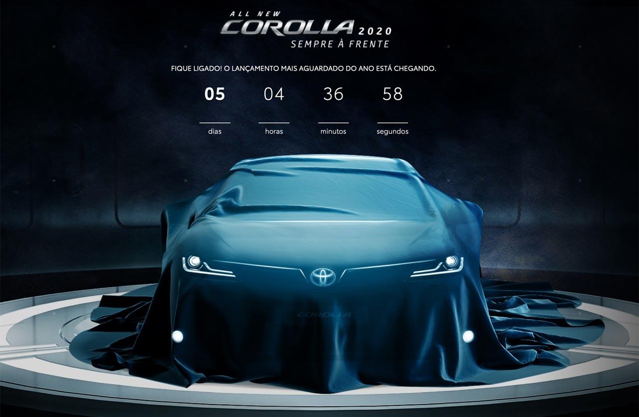 Toyota anticipa el diseño del nuevo Corolla
