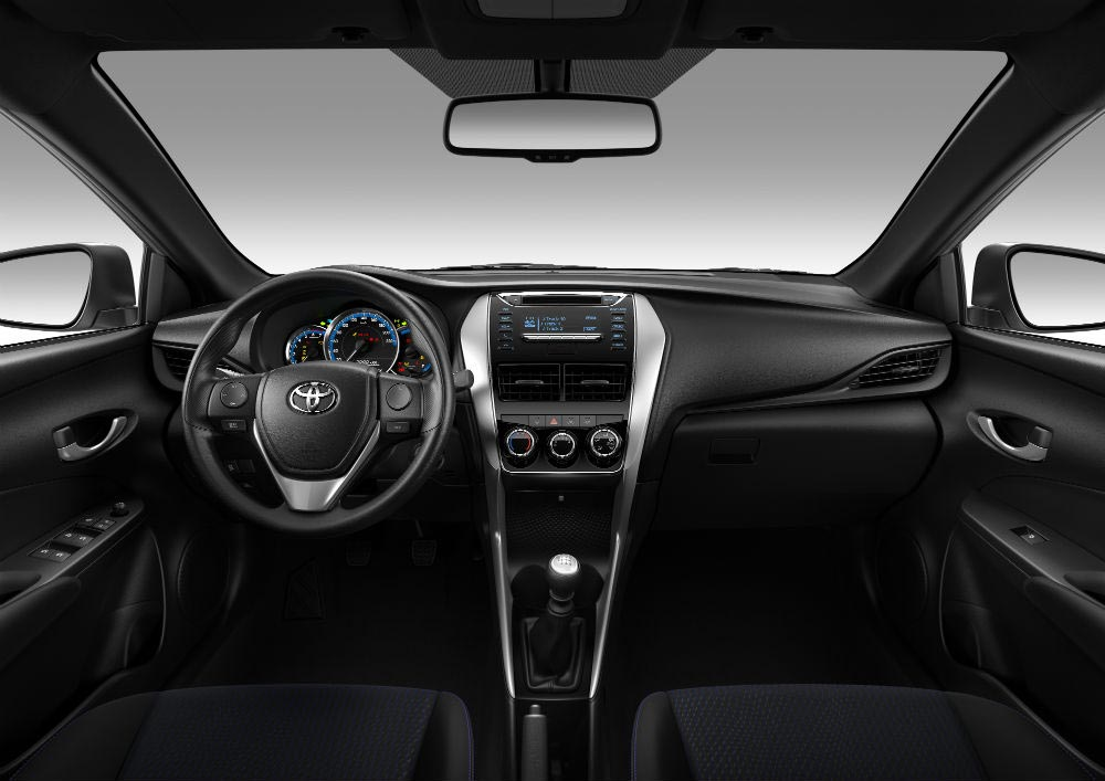 Interior Toyota Yaris 2020