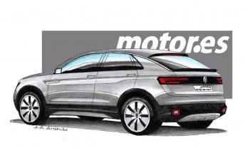"""¿Será así el Volkswagen """"T-Cross Coupé""""?"""
