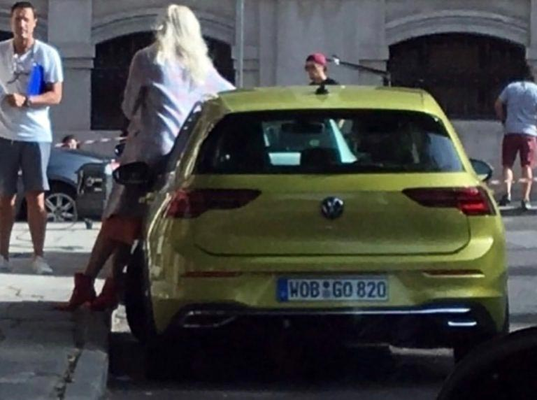 VW Golf mk8 2020