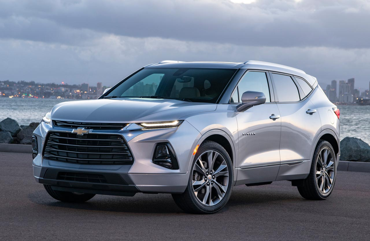 Nueva Chevrolet Blazer norteamericana