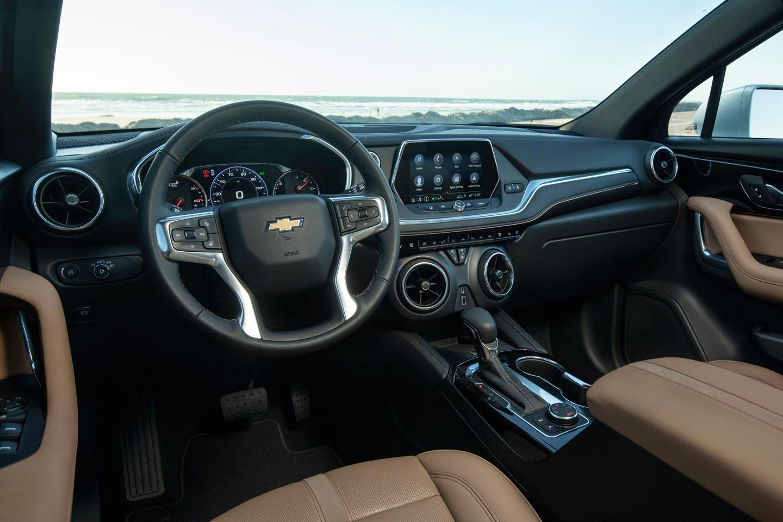Interior Nueva Chevrolet Blazer norteamericana