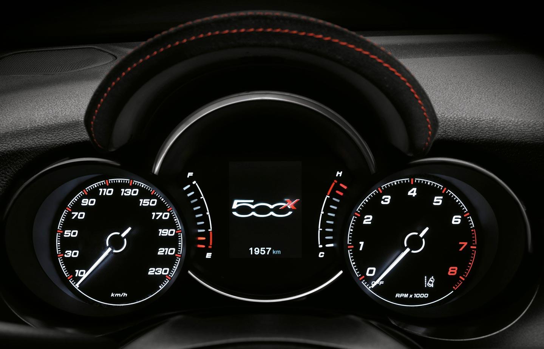 Tablero Fiat 500X Sport