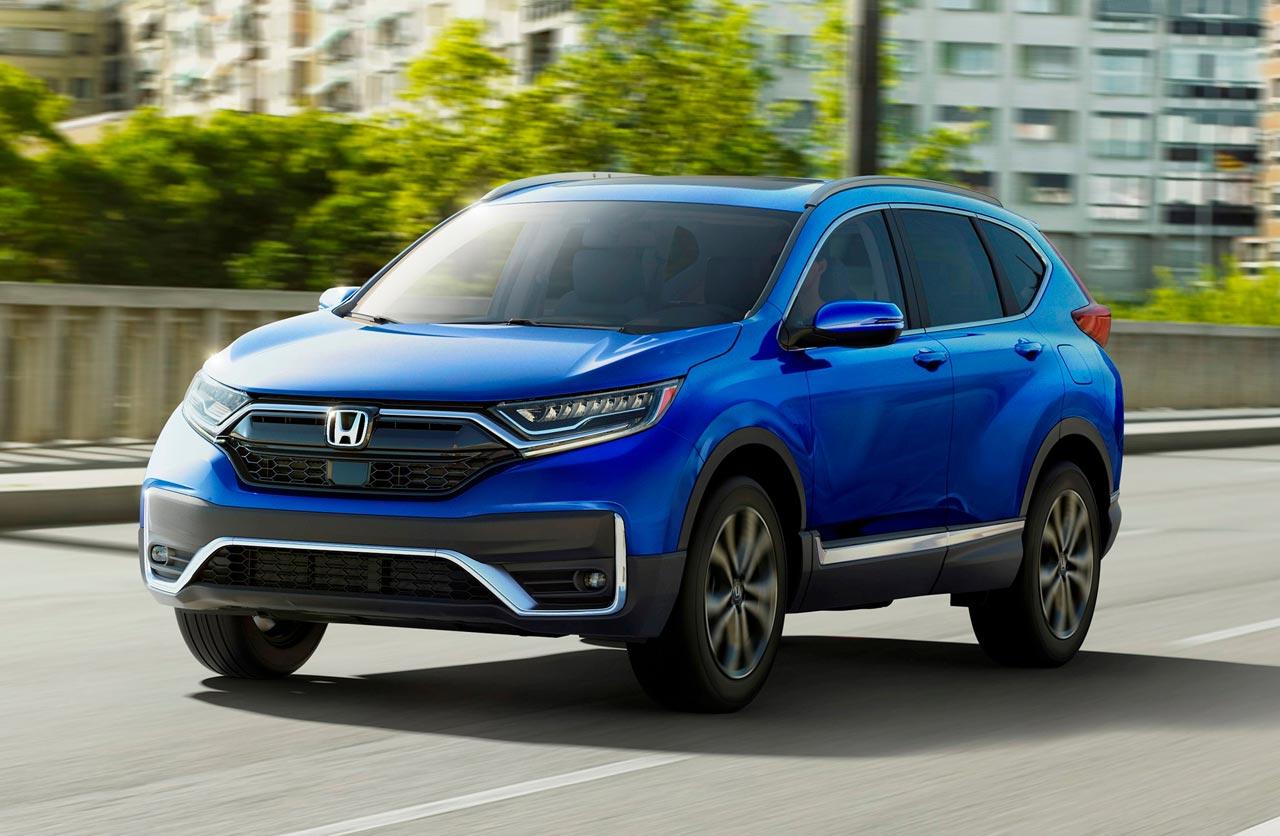 Cambios para la Honda CR-V