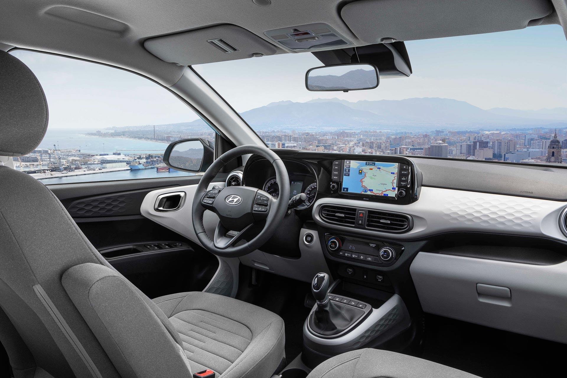Interior Hyundai i10 2020