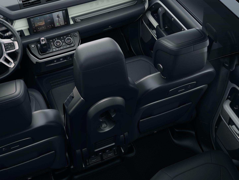 Interior Nuevo Land Rover Defender 2020