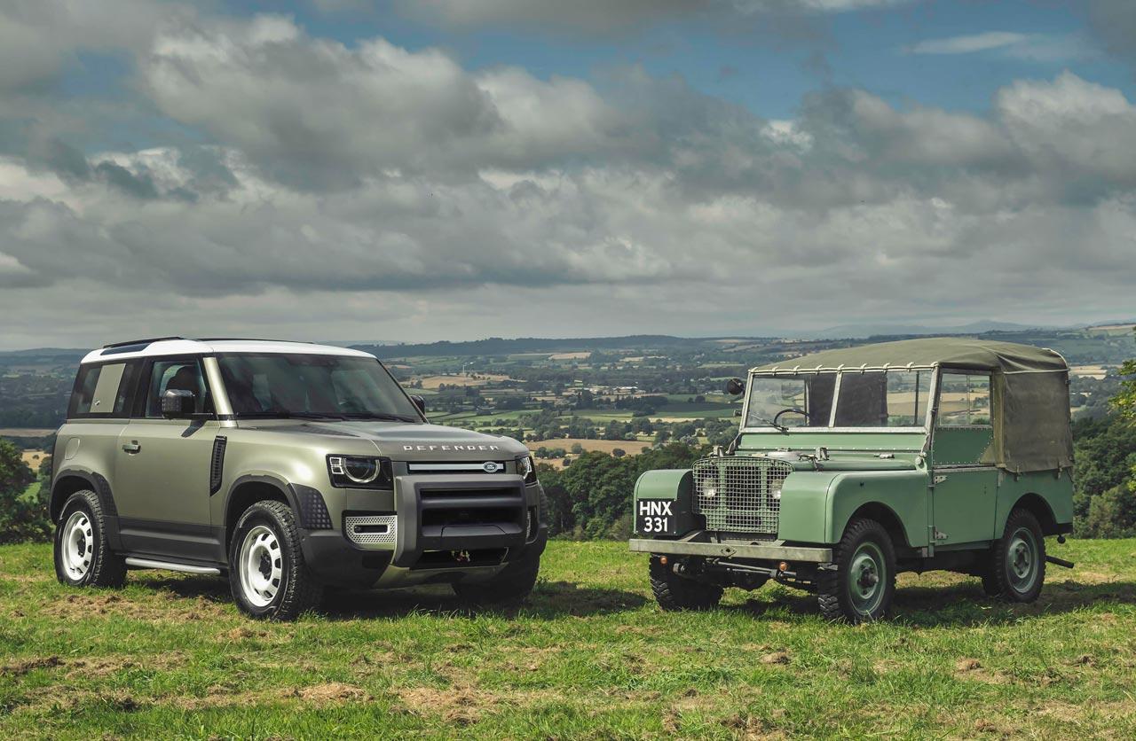 Land Rover Defender nuevo vs. viejo