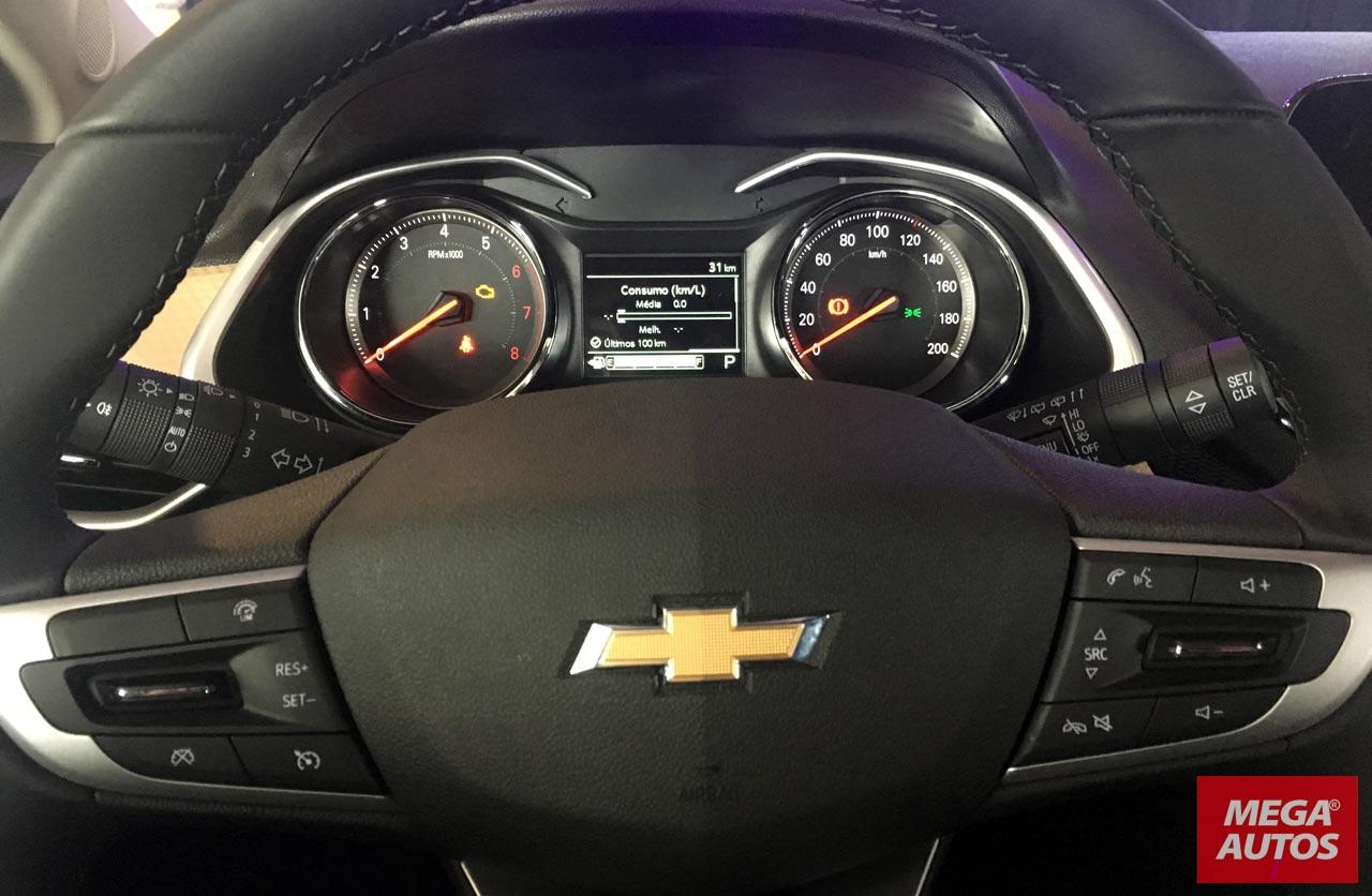 Interior Nuevo Chevrolet Onix Plus