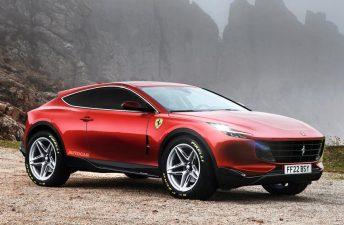 Se viene el primer SUV de Ferrari