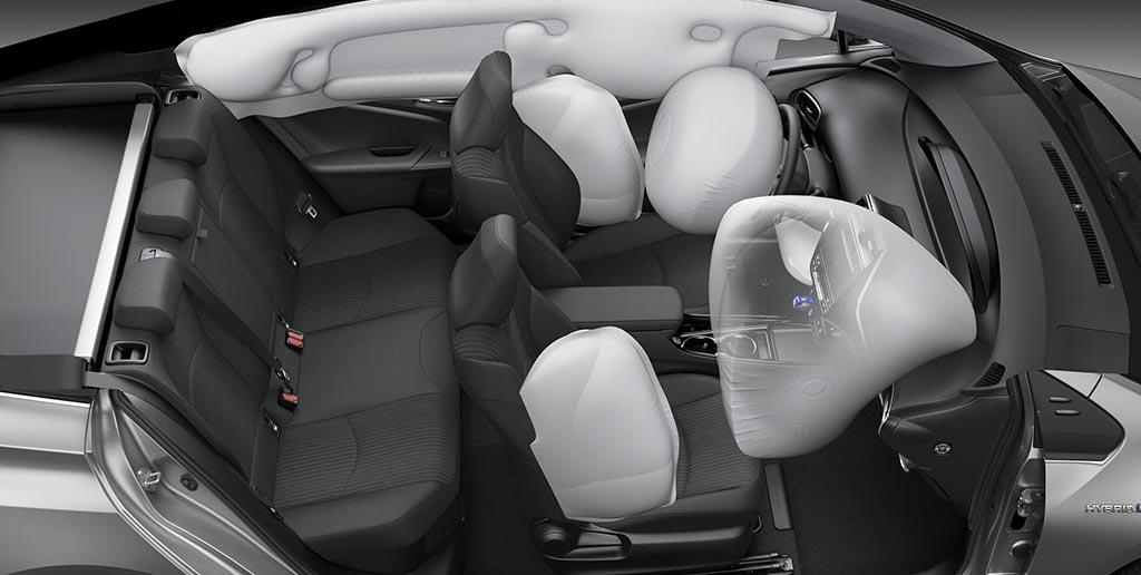 Airbags Toyota Prius 2019