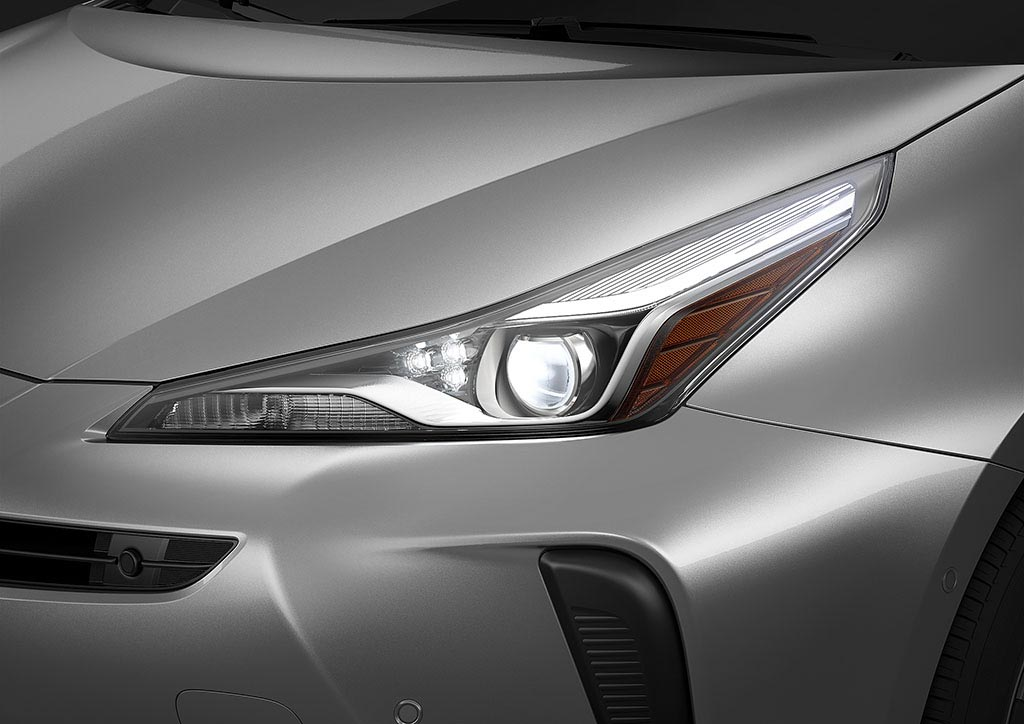 Toyota Prius 2019 restyling