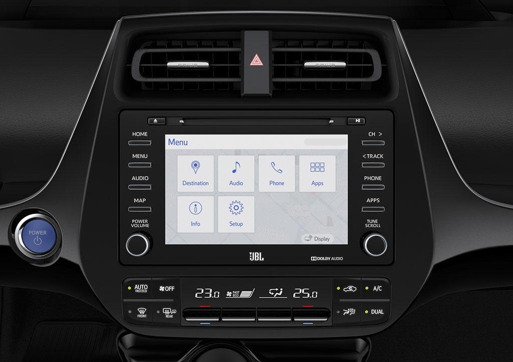 Nueva pantalla Toyota Prius 2019