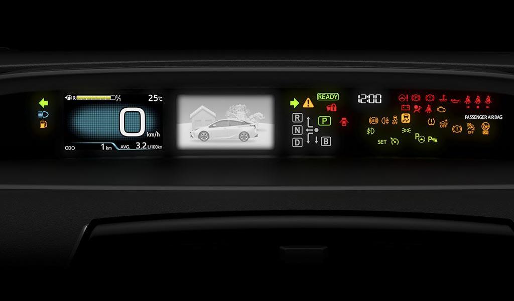 Tablero Toyota Prius 2019