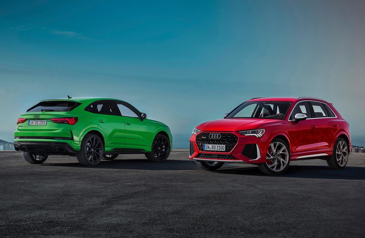 Audi Q3 RS y Q3 Sportback RS
