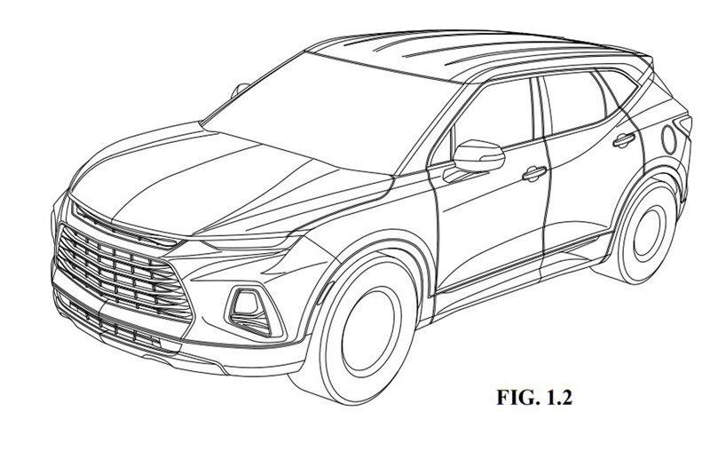 Nueva Chevrolet Blazer 2019 INPI