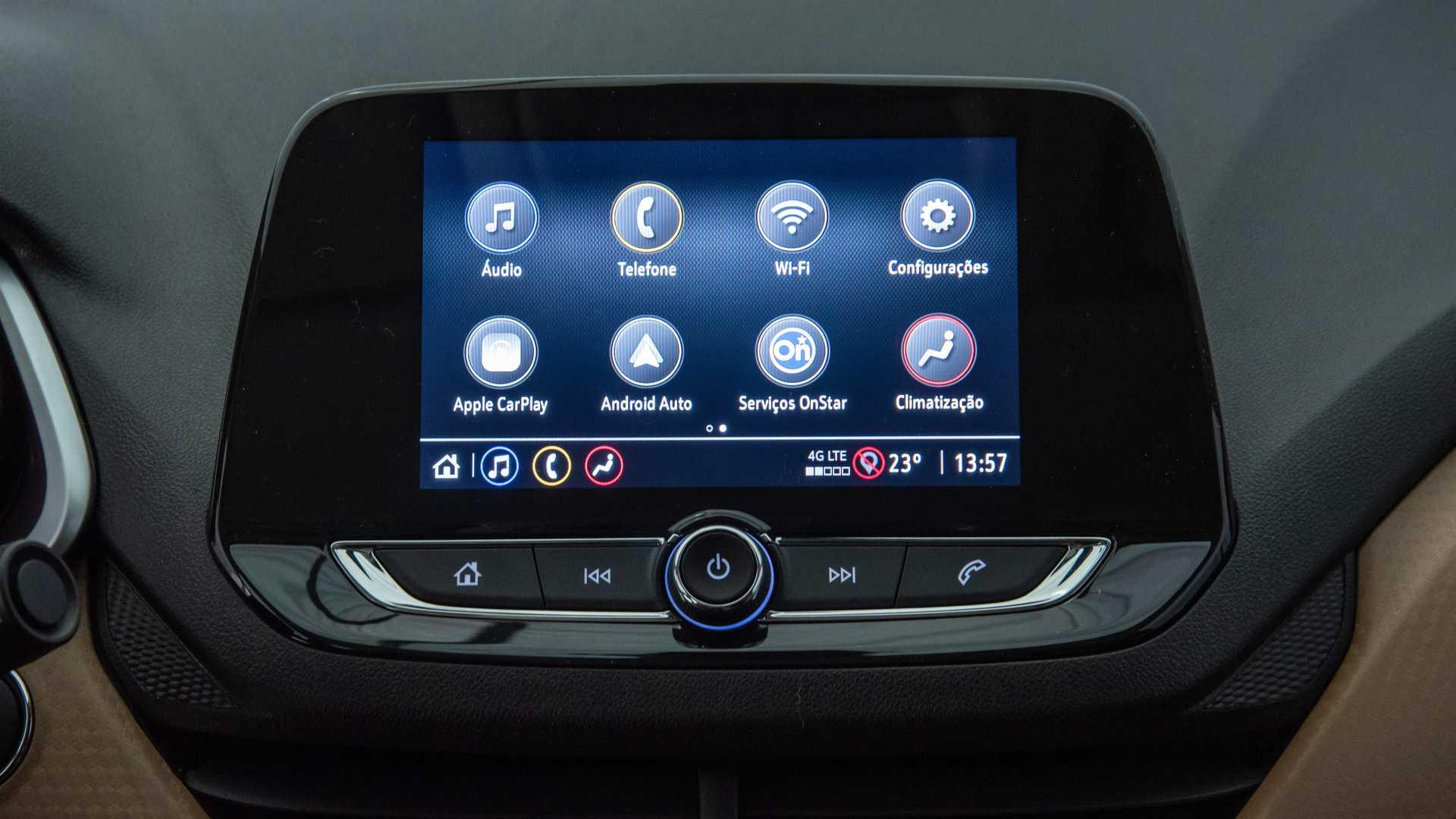 Interior Nuevo Chevrolet Onix