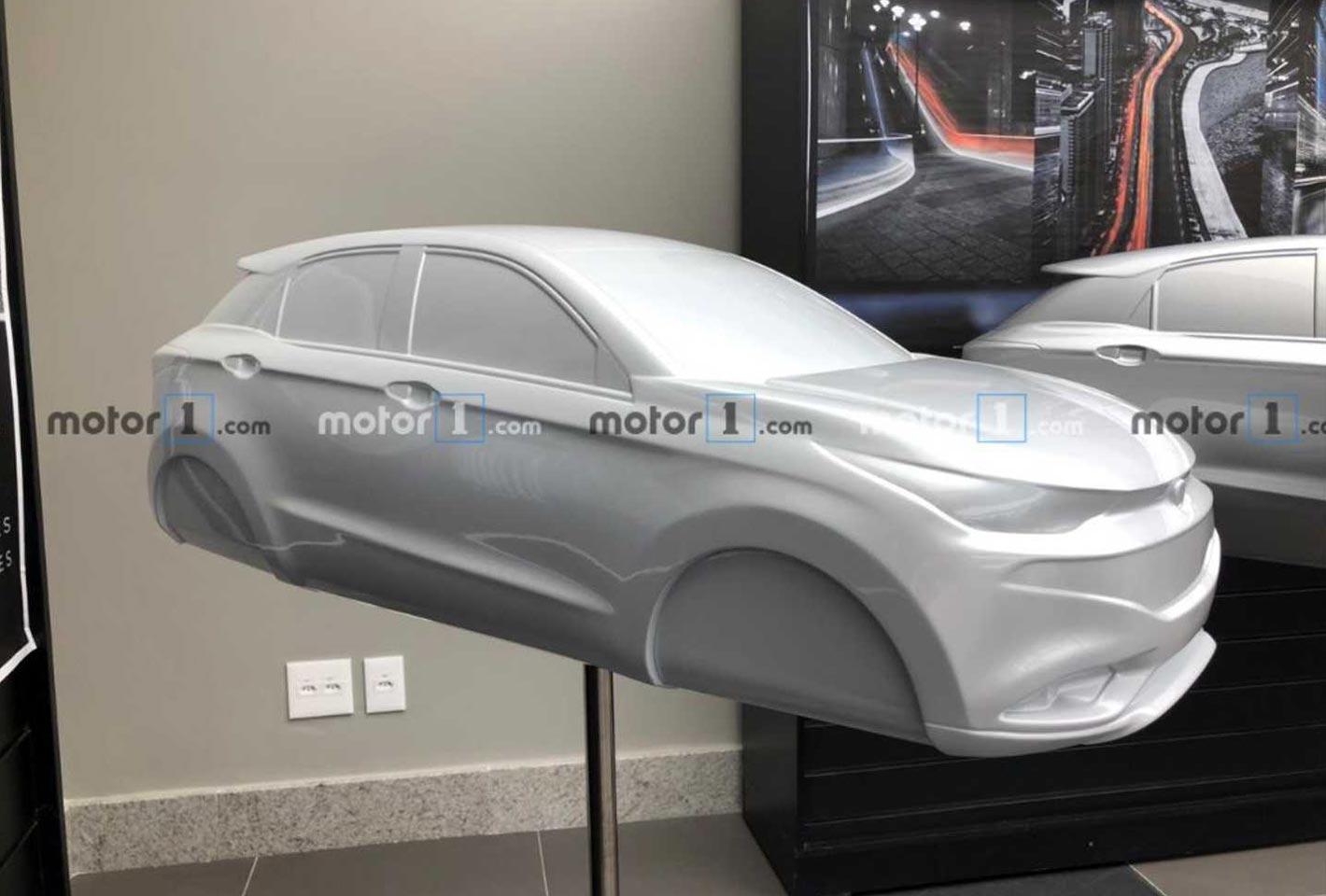 Maqueta nuevo SUV chico Fiat