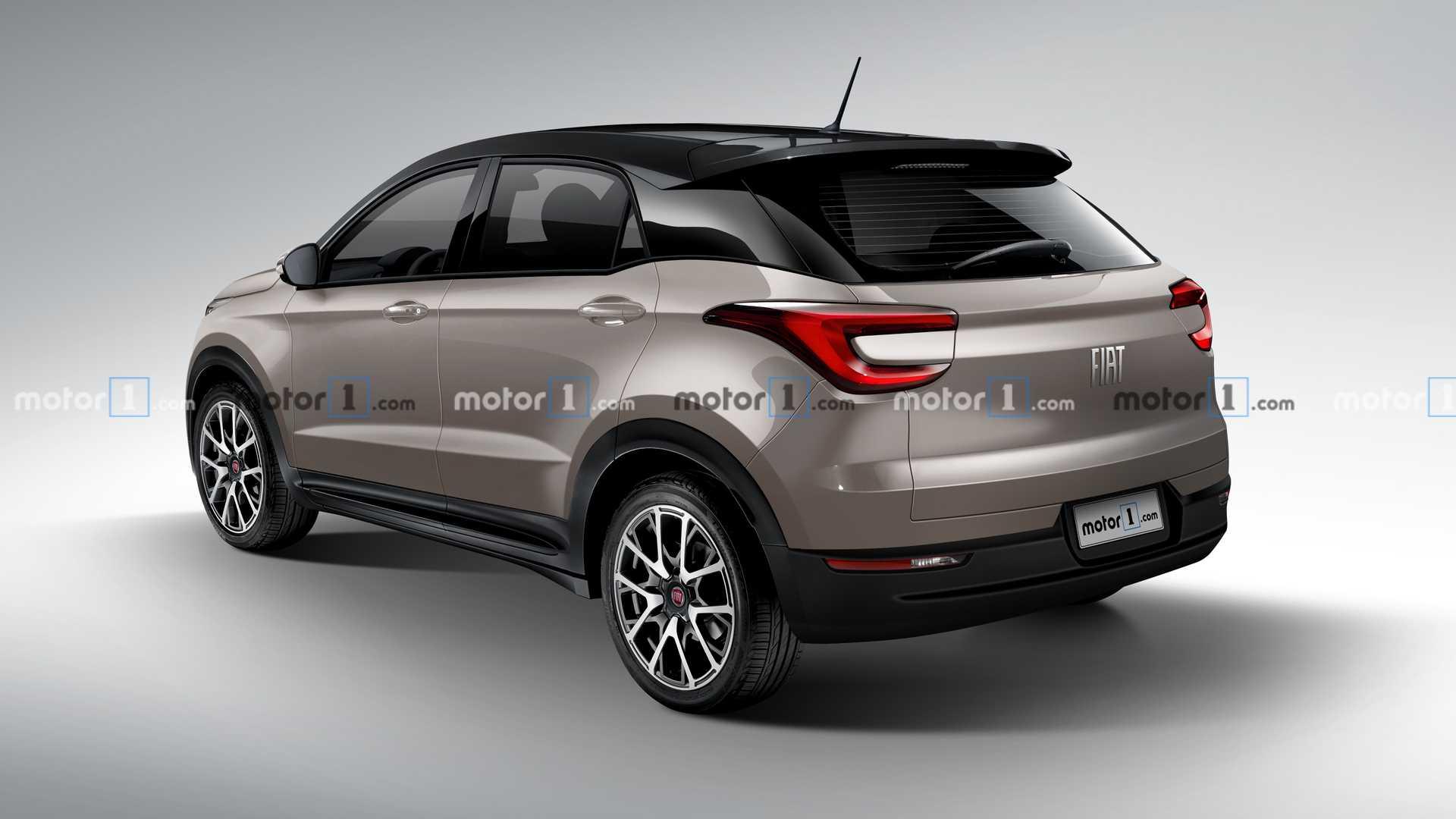 Nuevo SUV chico Fiat