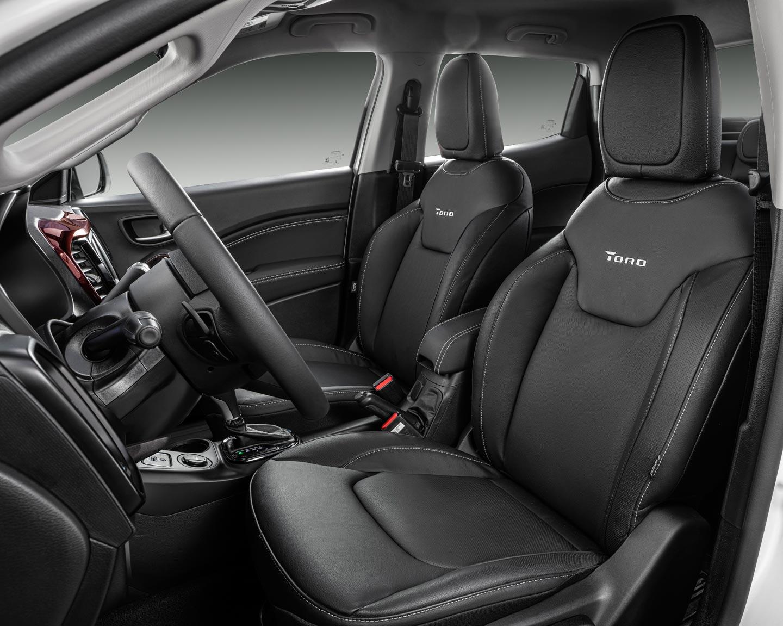 Interior Fiat Toro 2020