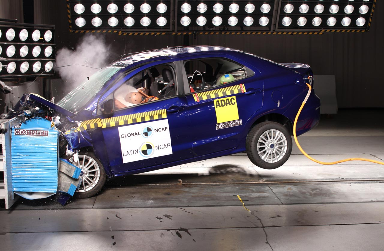 Ford Figo 4 estrellas Latin NCAP
