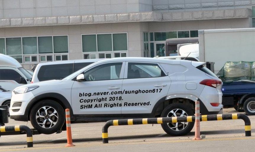 Mula de pruebas Hyundai Tucson pick up