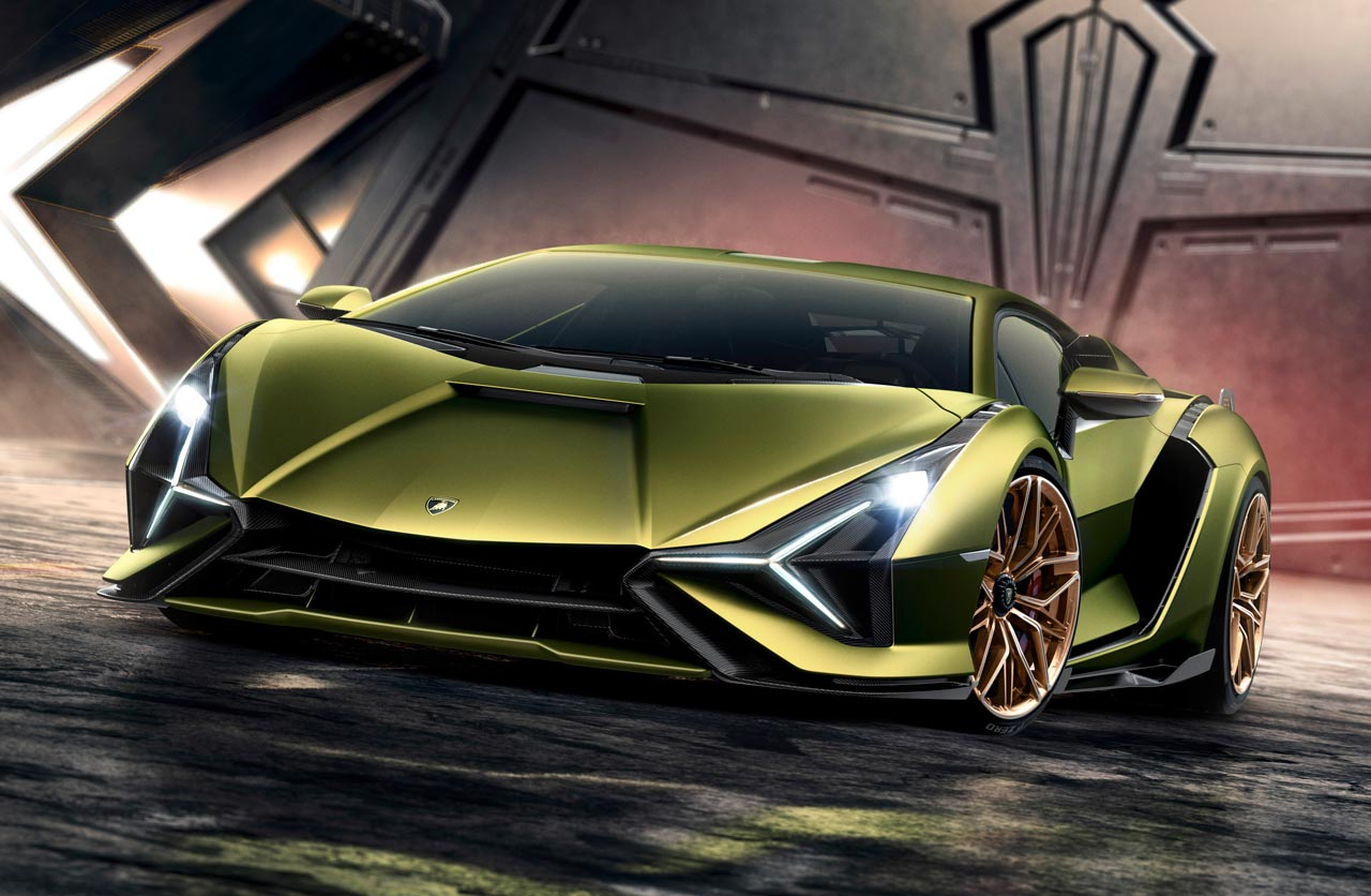 Lamborghini Sián híbrido