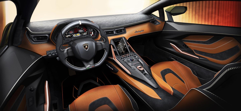 Interior Lamborghini Sián