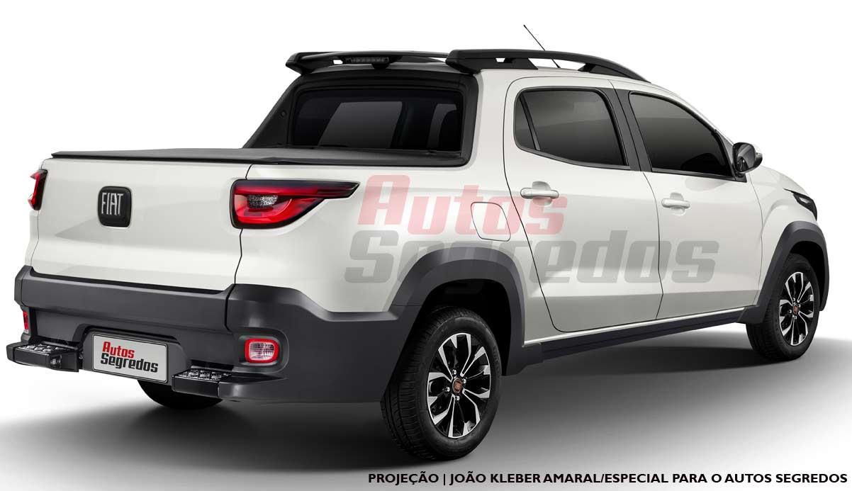 Nueva Fiat Strada 2021 proyección