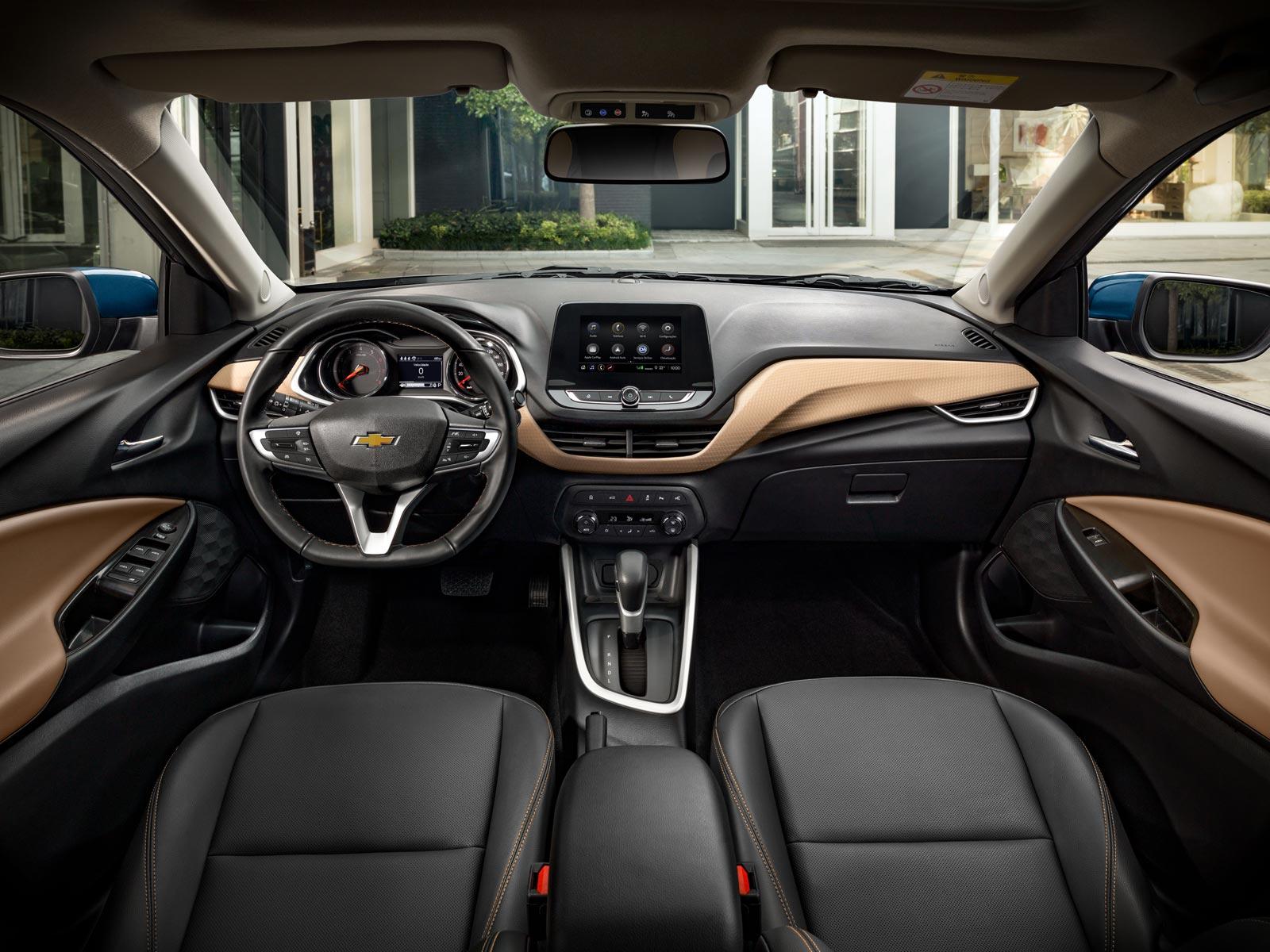Interior nuevo Chevrolet Onix México