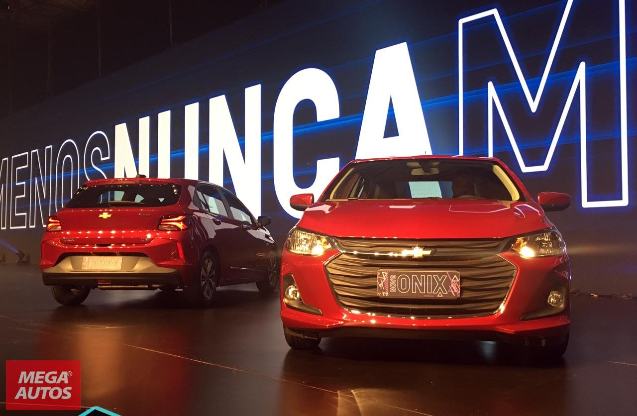 Nuevos Chevrolet Onix y Onix Plus