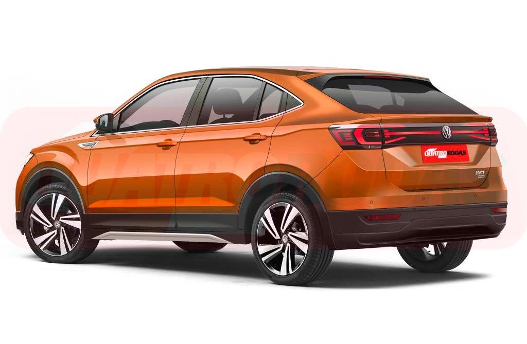 Volkswagen prueba su crossover coupé regional