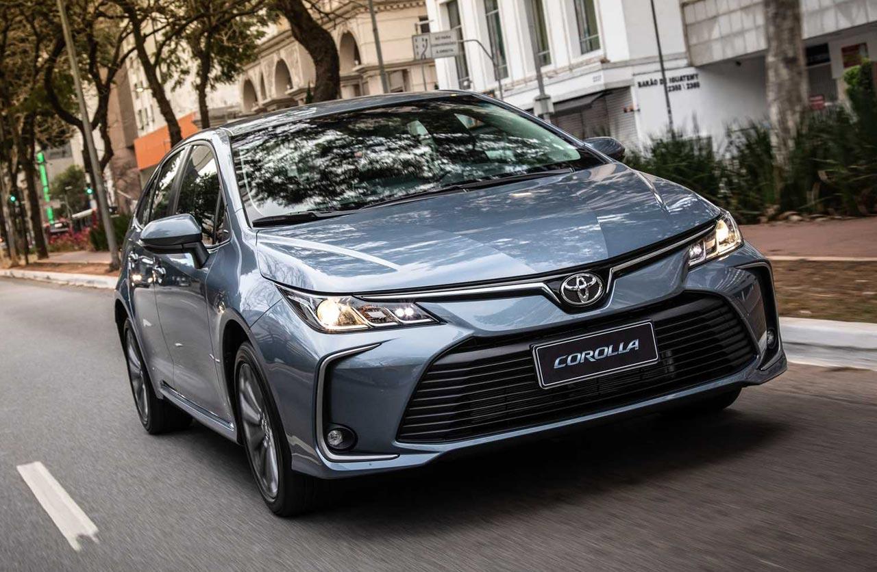 Nuevo Toyota Corolla 2020 brasileño