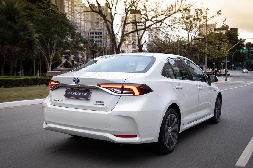 Nuevo Toyota Corolla híbrido 2020 regional