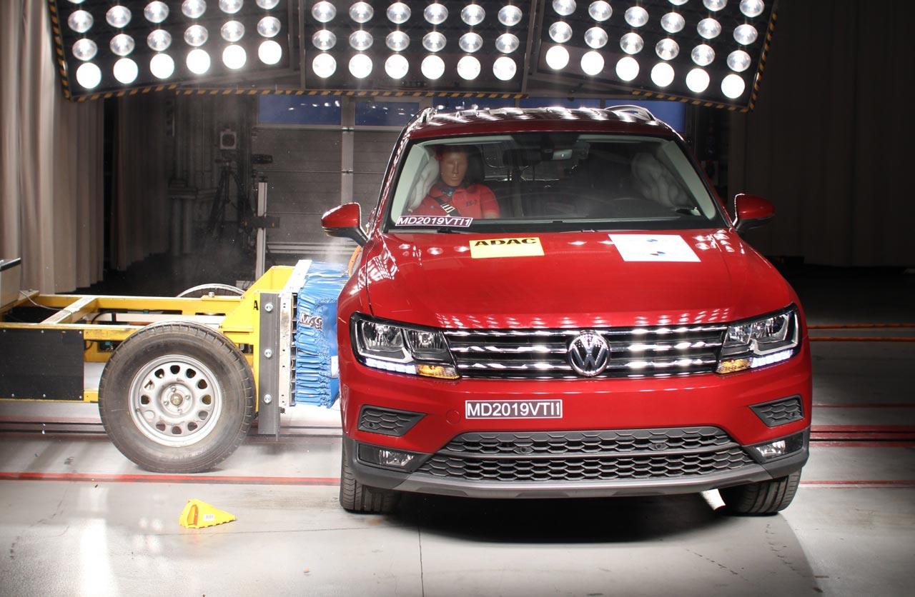 VW Tiguan 5 estrellas Latin NCAP