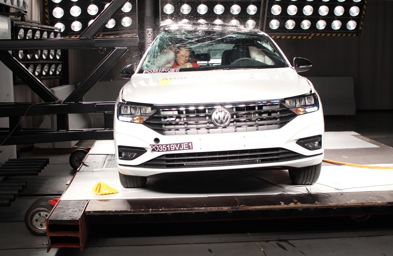 VW Vento 5 estrellas Latin NCAP
