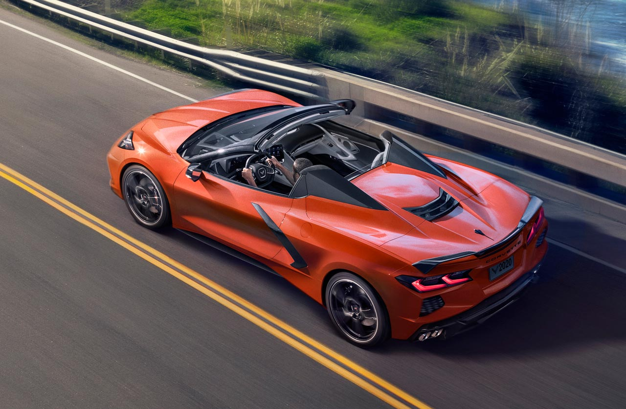 Así es el nuevo Chevrolet Corvette Convertible